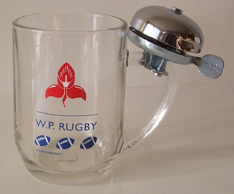 W.P. BEERMUG WITH BELL