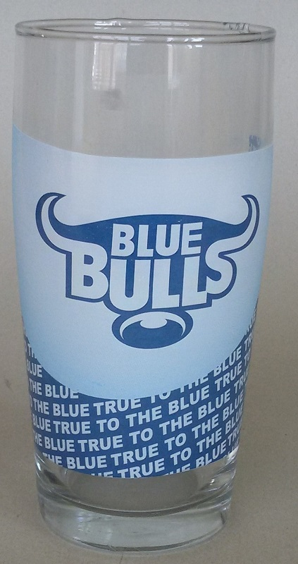 BLUE BULLS WILLY GLASS - NEW