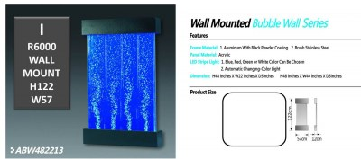 ALUMINUM BUBBLE WALL FRAME I