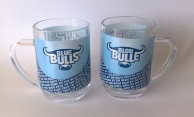 BLUE BULLS BEER MUG- NEW