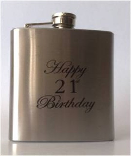 HIP FLASK  21ST
