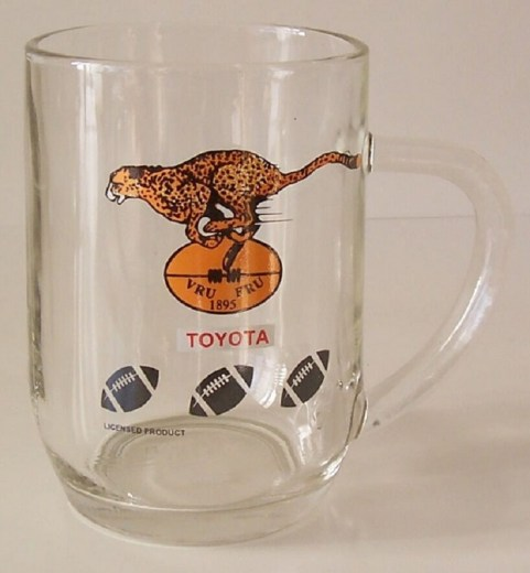 CHEETAHS  BEER GLASS