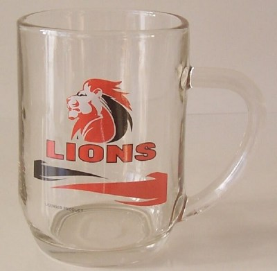 LIONS  BEER GLASS