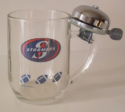 STORMERS BEERMUG WITH BELL