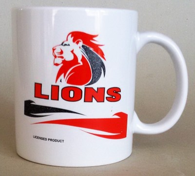 LIONS  COFFEE MUGS