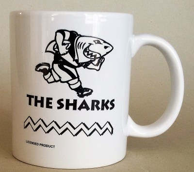 SHARKS  COFFEE MUGS