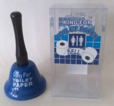 RING FOR TOILET PAPER