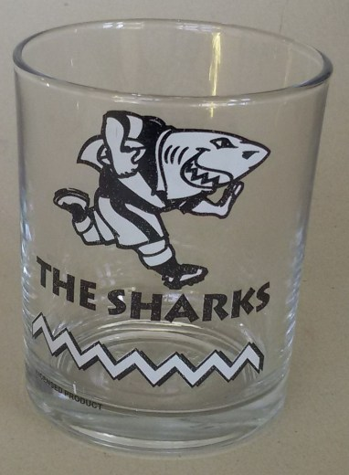 SHARKS WHISKY GLASS