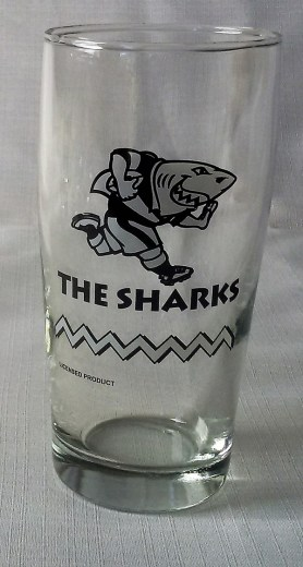SHARKS WILLY GLASS 6,s