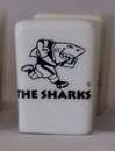 SHARKS  SALT & PEPPER SET