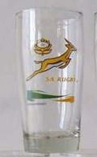 SPRINGBOKS WILLY GLASS