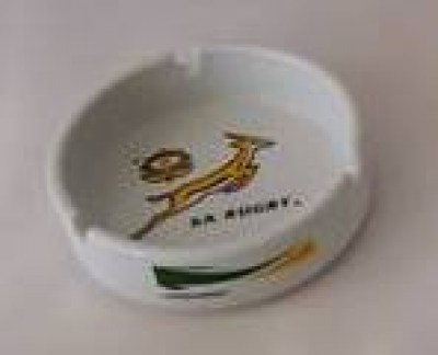 SPRINGBOK CERAMIC ASHTRAY