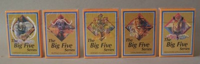 BIG FIVE SERIES- PLAYING CARDS